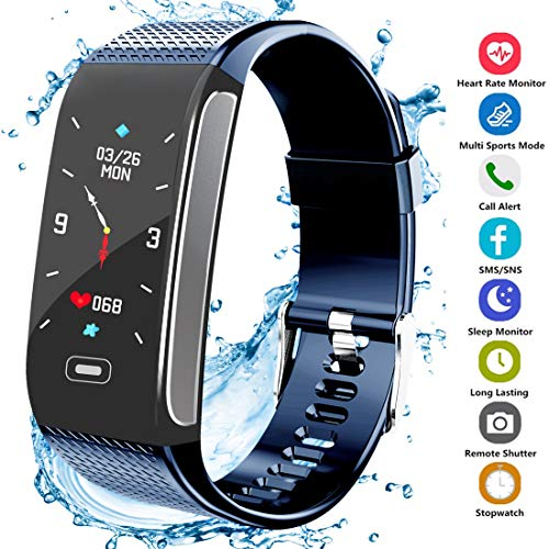 Fitness Tracker HR, Activity Smart Bracelet Wristband with Pedometer H
