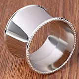 LooBooShop Table Goods of Display Rather Than for Napkin Circle Napkin Ring Model Soft Ornament Originality Napkin Buckle 1 Postal