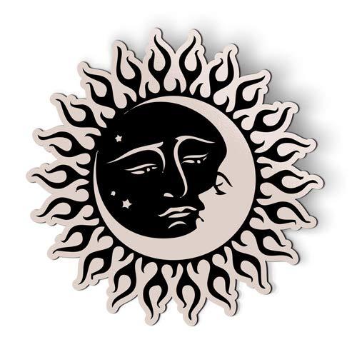AK Wall Art Sun and Moon Celestial - Magnet - Car Fridge Locker - Select -