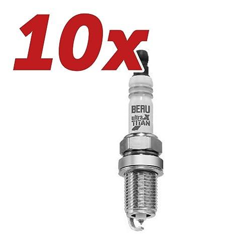10 x Beru Bujía Ultra X Titan – uxt14 de