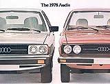 1978 Audi 5000 & Fox Sales Brochure