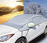 XYYMC Car Windscreen Sun Shade UV Cover Protector Keep Car Cool Windshield Dust Cover Frost Snow Ice Cover in All Weather