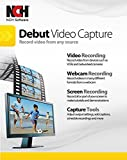 Software : Debut Video Capture Software to Record from a Webcam, Computer Screen or Device [CD ROM]