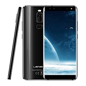 LEAGOO S8 3GB+32GB 5.72 inch Dual Curved Edge LEAGOO OS 4.0 (Android 7.0) MTK6750T Octa Core up to 1.5GHz WCDMA & GSM & FDD-LTE (Black)