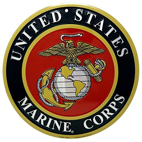 Sign Marine Corps - Ramsons Imports United States Marine Corps Emblem 12