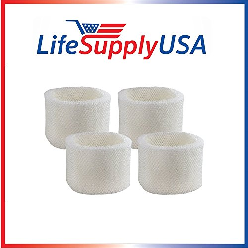 4PK Replacement Filter D fits Holmes, Sunbeam, Honeywell, Westinghouse, Bionaire W & BCM Series Humidifiers # HWF75 SF221 SCM3501 HM3500 HM3600 HC14 HCM6012i W2 W9 W12 BCM3656 BCM5521 WWHM3600 + More