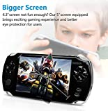 SD 2018 Latest Game Console Handheld Portable 2000 + Classic Games , Video and MP3 32 Bit Operation