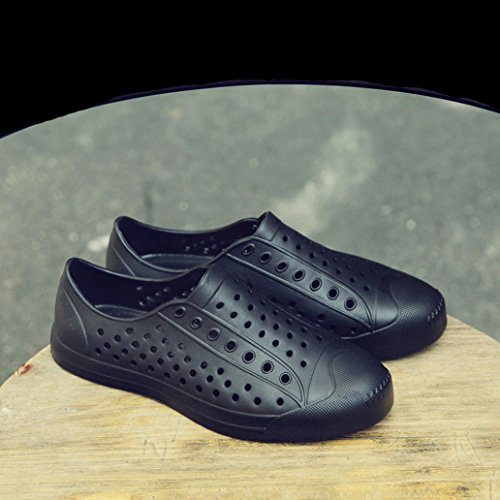 Shoes Leisure Lazy Black Transer Casual Beach Sandals Classic Loafers Mens Women Slip Unisex Flats on Shoes Soft wTnXnB4qt6