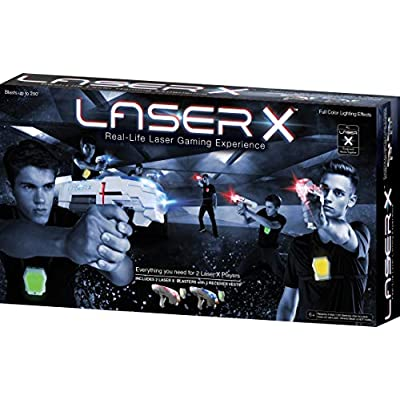 Laser X 88016 Two Player Laser Gaming Set: Toys & Games