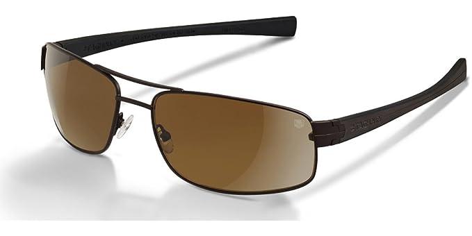 Amazon.com: Tag Heuer LRS 0251 Gafas de sol 203 Chocolate ...