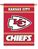 NFL Kansas City Chiefs 2-Sided 28-by-40-Inch House Banner