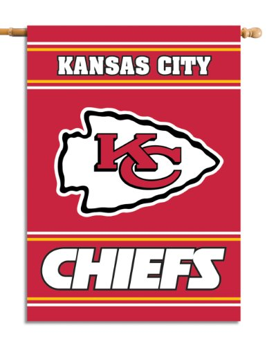 Fremont Die NFL Kansas City Chiefs 2-Sided 28-by-40-Inch House Banner]()