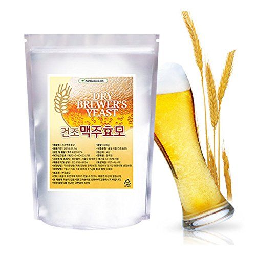 ([Jeongwoodang]Dry Brewers yeast 35.2oz/Preventing Hair Loss/50% Protein/diet supplement/Super)