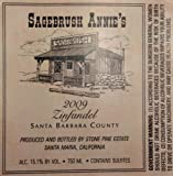 2009 Sagebrush Annie's Santa Barbara County Zinfandel 750 ML