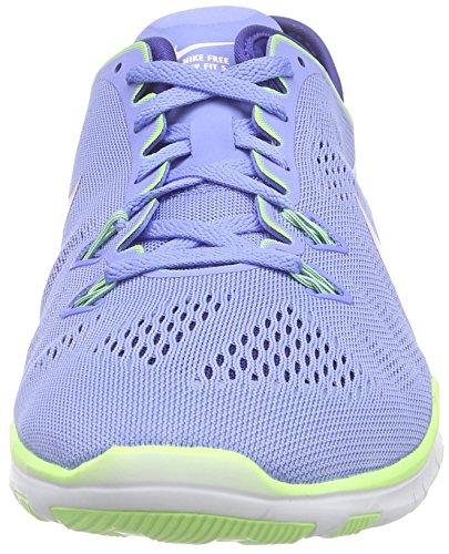 Damen Nike Blau;gelb Tr 5 Fit 0 Free Wmns Hallenschuhe 5 Blau 6fdqf