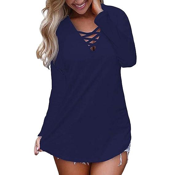 Camisas Mujer, BBestseller Otoño e Invierno Blusas para Mujer Vaquera Sexy Tops Camisetas Mujer Cremallera