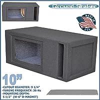 Ground-Shaker 10 Single Slot Port Bandpass Box
