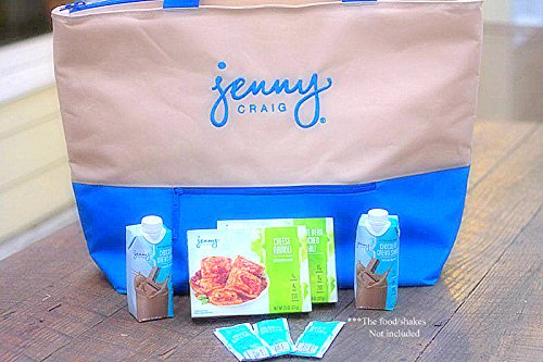 jenny-craig-insulated-grocery-tote-bag