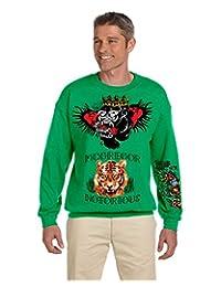Allntrends Men's Sweatshirt Conor Mcgregor Tattoos Inspired Cool Top