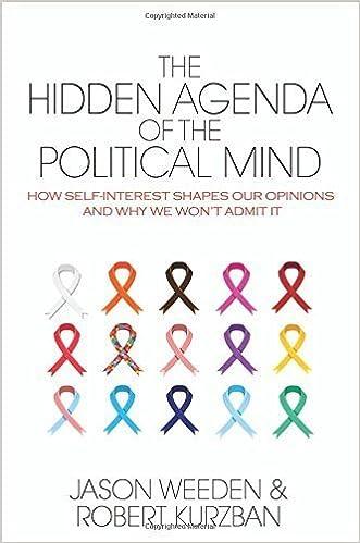 The Hidden Agenda of the Political Mind: How Self-Interest ...