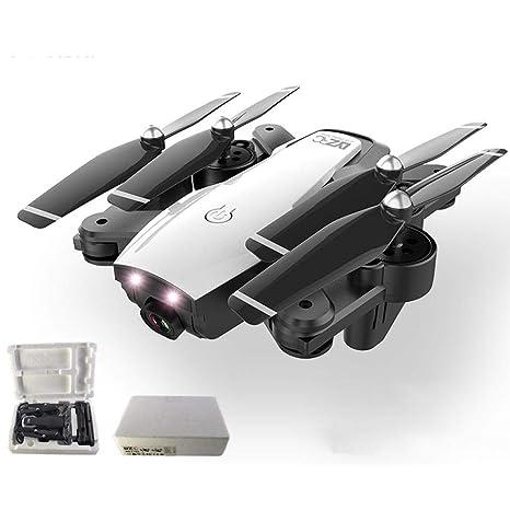 Dron plegable de cuatro ejes con cámara, batería larga, Dual ...
