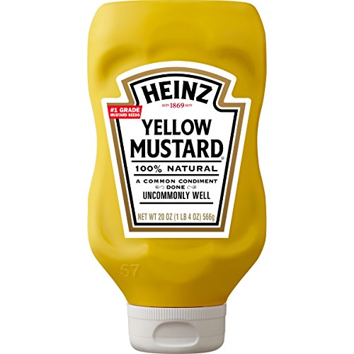 Heinz Yellow Mustard, 20 Ounce