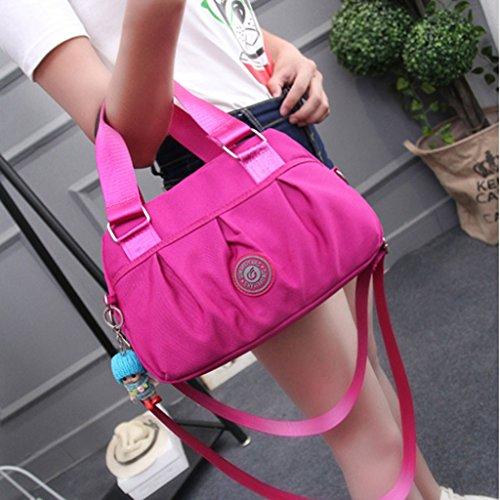 YUAN Damentaschen New Tide Nylon Oxford Stofftasche Outdoor Recreation Single Schulter Diagonale Tasche