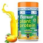 Fast&Up Plant Protein (450g) 30g Protein 100% Organic Daily Vital Nutrition Vegan Protein Drink For Men & Women – Gluten…