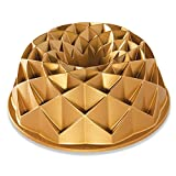 Nordic Ware 88377 Jubilee Bundt Pan, One, Gold