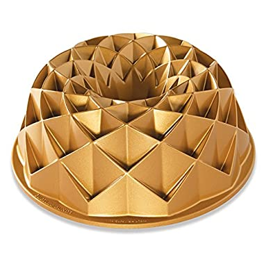 Nordic Ware 88337 0011172883377 Jubilee Bundt Pan, Metallic, One Size,