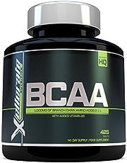 BCAA Comprimé 1000mg | 425 Comprimés | 3000mg Portion Journalière | Approvisionnement pour 141 Jours | 2:1:1 d'Acides Aminés à Chaîne Ramifié L-Leucine, L-Isoleucine, L-Valine