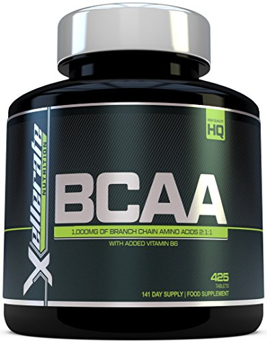 BCAA Tablet 1000mg - 425 Tablets - 3000mg Daily Serving - 141 Day Supply -...