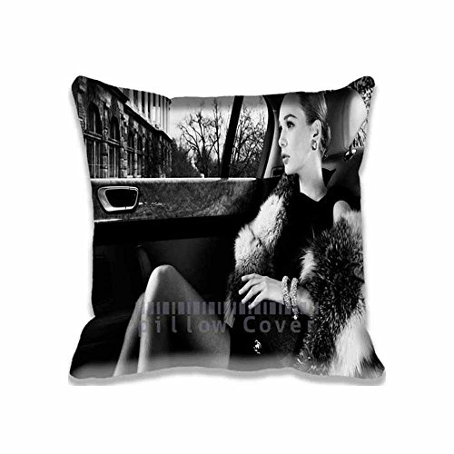 Popular Home Decoration Luxury Lifestyle Pillow Cases Style Black and White Custom Photo Diy Pillows Design - Fantasy Travel Pillow Cover - Lifestyle Floral Pillow