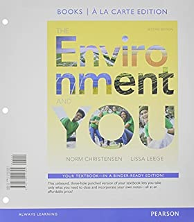 The environment and you 2nd edition standalone book norm environment and you the books a la carte edition 2nd edition by fandeluxe Choice Image