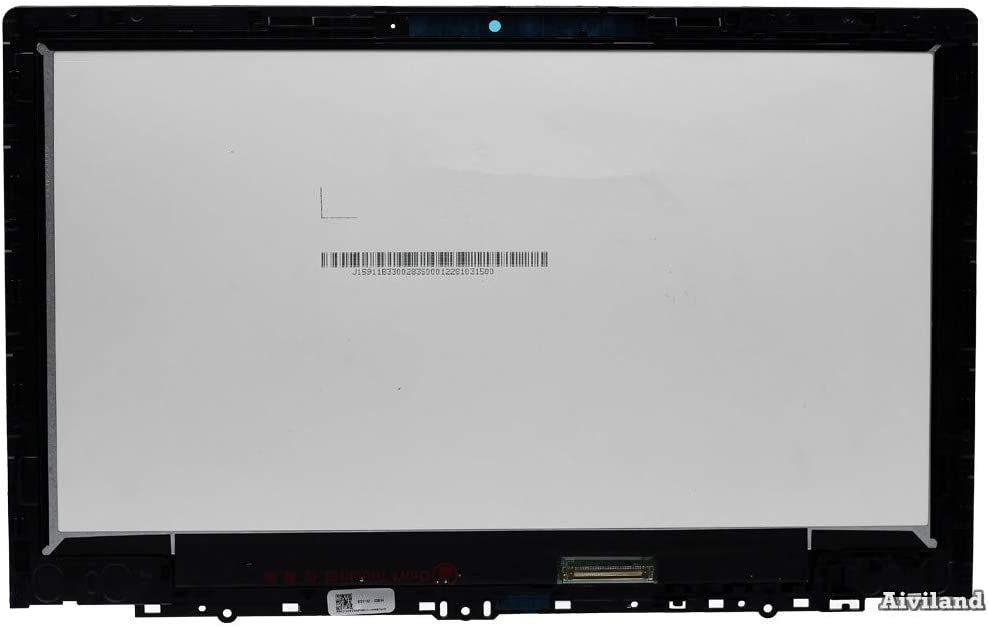 Replacement 11.6 IPS LCD LED HD 1366x768 Touch Screen Assembly with Bezel Frame for Lenovo Chromebook C330 81HY0000US 5D10S73325