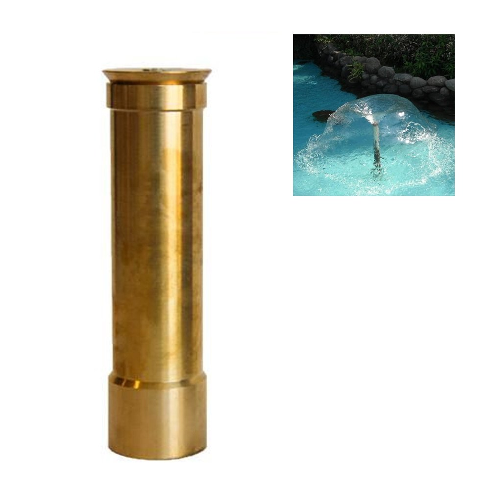 NAVADEAL 1'' DN25 Brass Lava Water Fountain Nozzle Spray Pond Sprinkler Head