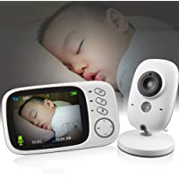 Vb603 Wireless Video Color Baby Monitor With 3.2Inches Lcd 2 Way Audio Talk Night Vision Surveillance Security Camera…