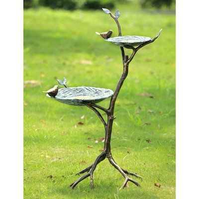 SPI Home 33739 Gossiping Birds Bird Feeder