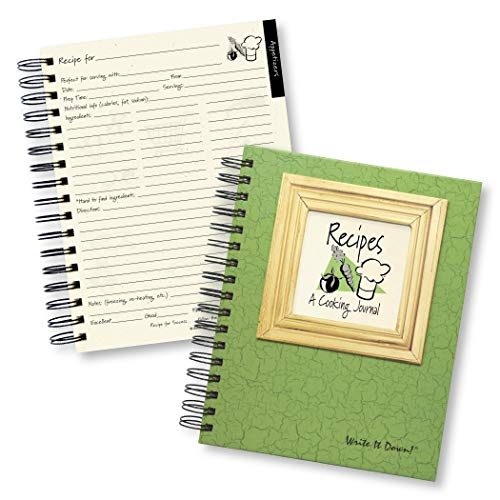 Recipes, A Cooking Journal (Color)
