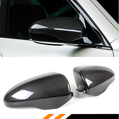 Cuztom Tuning Direct ADD ON Carbon Fiber Side Mirror Covers Cap for 2012-2015 BMW F06 F12 F13 M6 ()