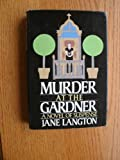 Front cover for the book Murder at the Gardner by Jane Langton