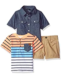 c6749505e Amazon.com  Multi - Short Sets   Clothing Sets  Clothing