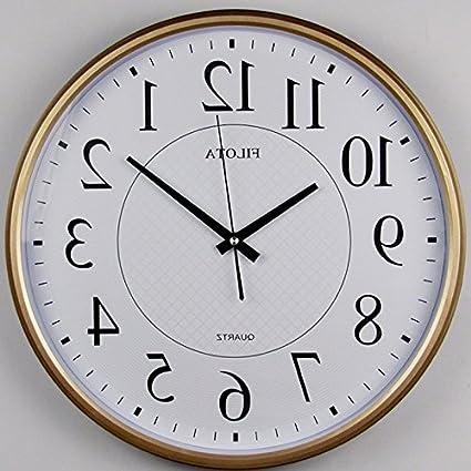 Y-Hui Aula Clock en la oficina Relojes de pared Relojes de mesa Relojes de