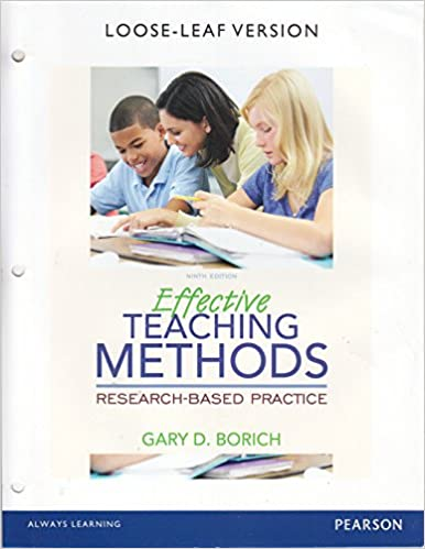 Effective teaching methods : Research-based practice /