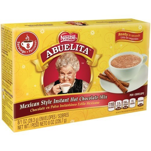 Abuelita Instant Cocoa, 8 Ounce (Best Mexican Hot Chocolate)