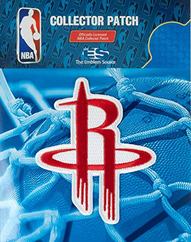 Houston Rockets NBA Authentic Licensed Alternate Team Logo Embroidered Collectors - Team Patch Nba