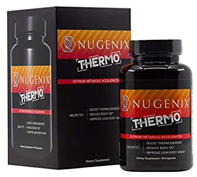 Nugenix Thermo - Extreme Metabolic Accelerator, Fat Burner, Thermogenic for Weight Loss