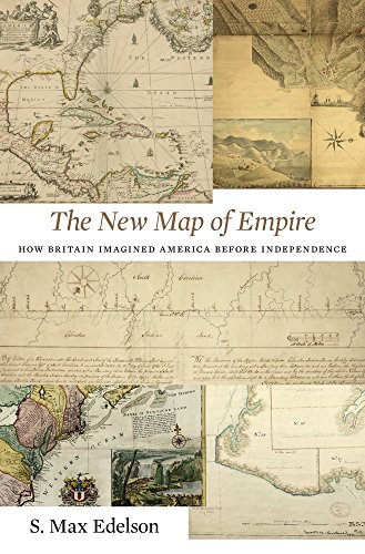 The New Map of Empire: How Britain Imagined America before - Colonial Map Us