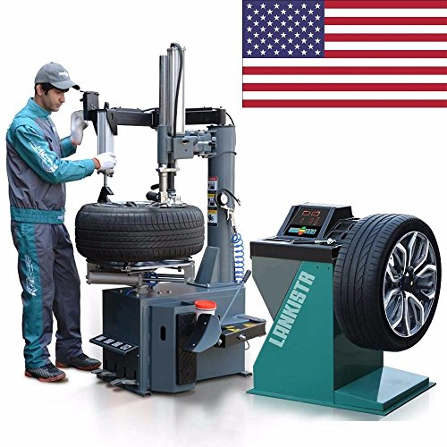 New 988 Tire Changer Wheel Changers Machine Combo LB 137 Balancer Rim Clamp