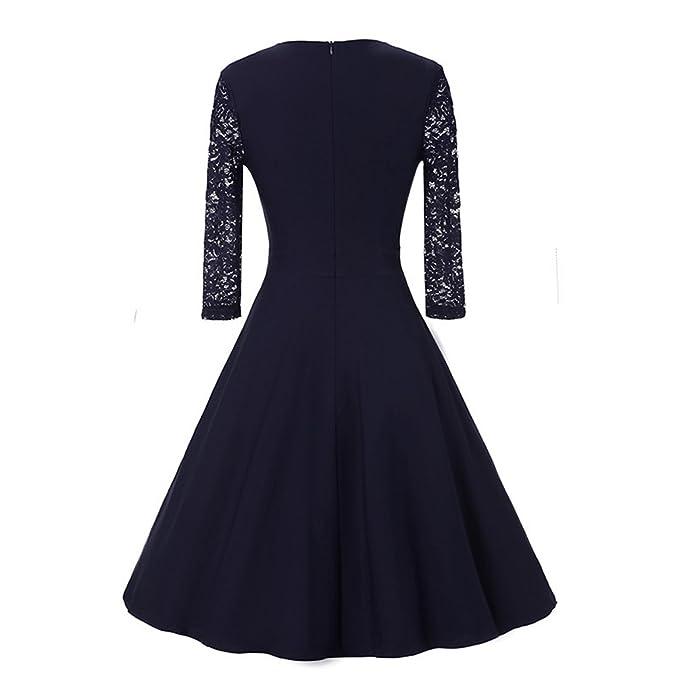 Vestidos de Fiesta Cortos Vintage Retro 1950ds Ropa Para Mujer,2018 TieNew Nueva moda Mujer